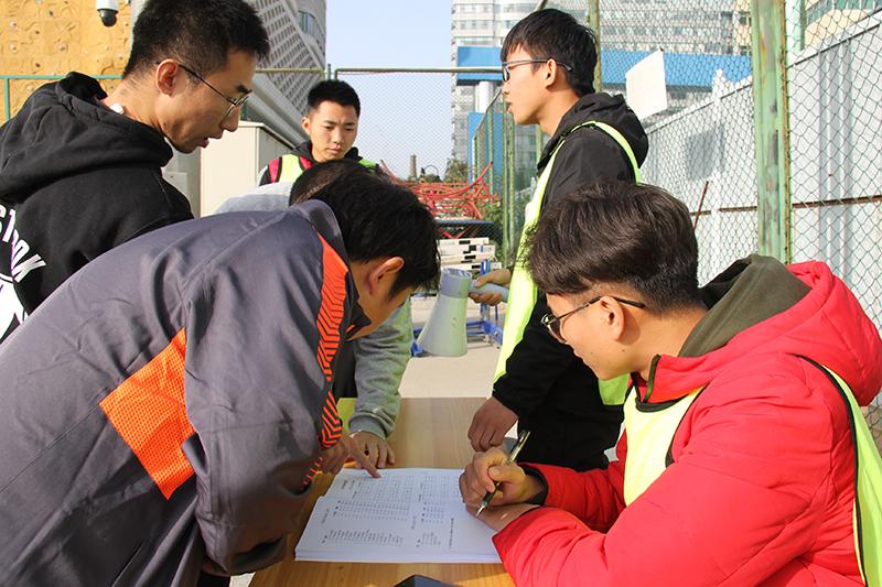 中国铁道科学研究院电子技术研究所第一届职工运动会 、赛前检录