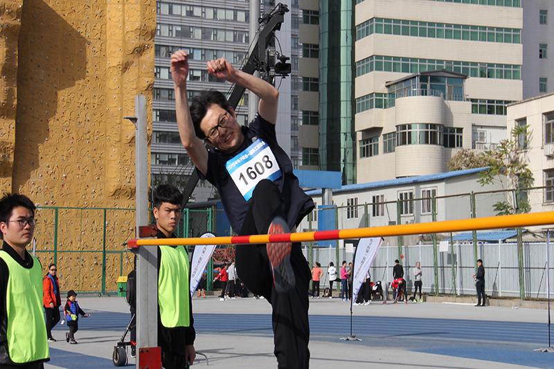 中国铁道科学研究院电子技术研究所第一届职工运动会、跳高比赛