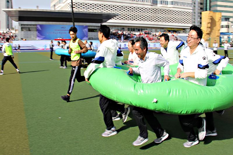 中国铁道科学研究院电子技术研究所第一届职工运动会、协力竞走