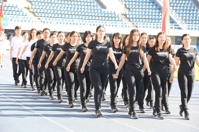 中国教育部入场方队精彩呈现