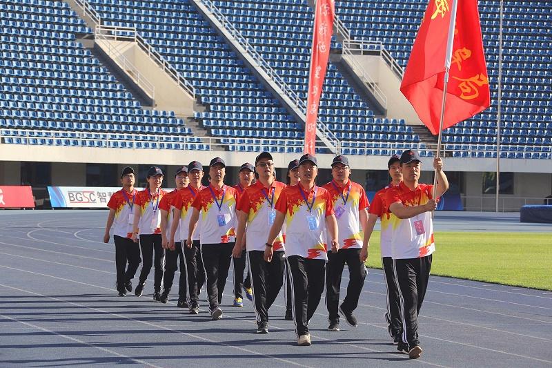 中国教育部入场方队