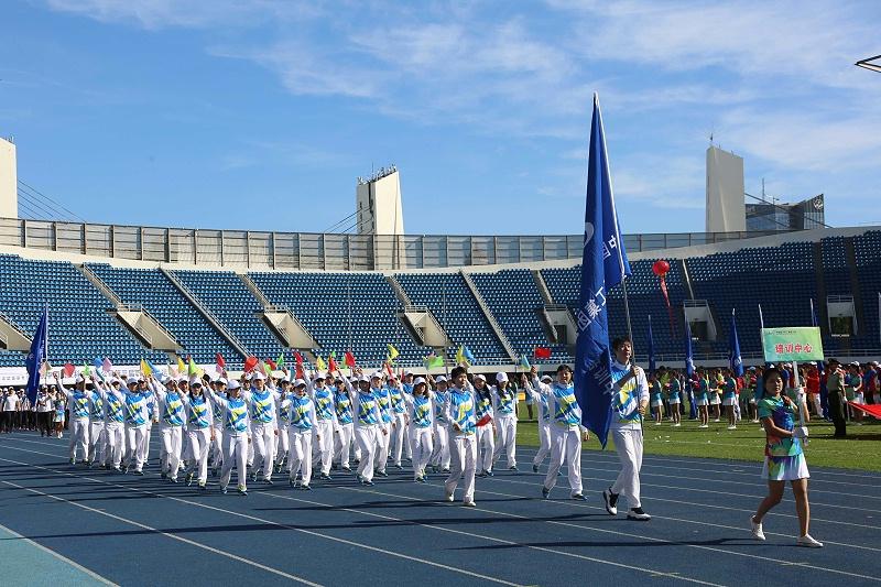 中国航天科工集团入场方队