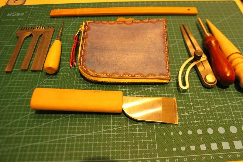 皮具制作、团建