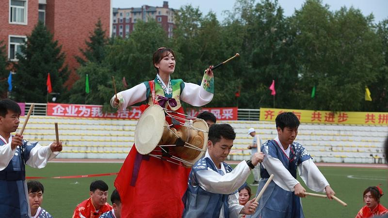 中国光大集团驻长企业2019年职工运动会、民族特色开幕表演