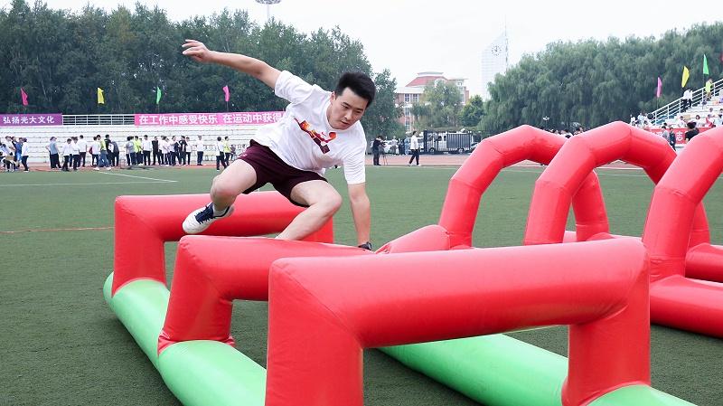 中国光大集团驻长企业2019年职工运动会、跨越障碍赛